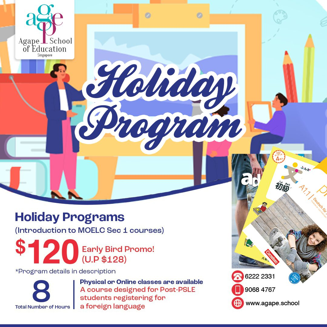 Holiday Programs for Post-PSLE Students