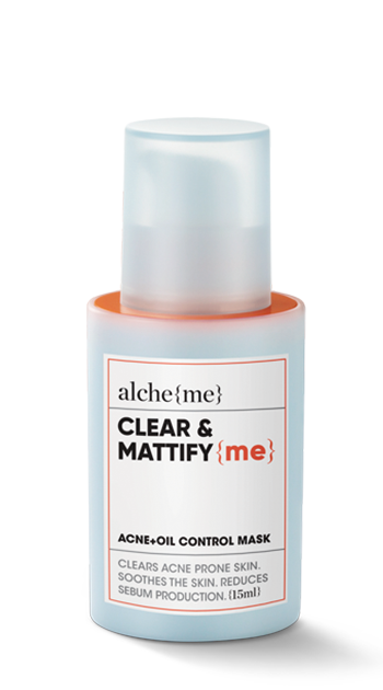 CLEAR & MATTIFY {me} (Acne+Oil Control Mask)