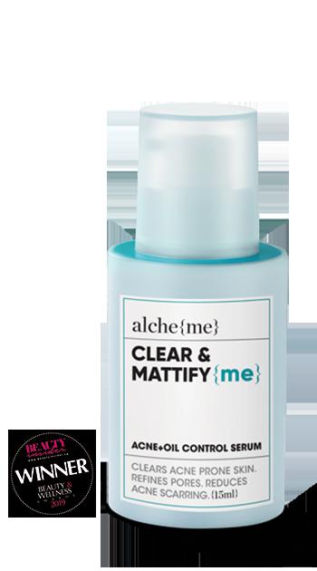 CLEAR & MATTIFY {me} (Acne+Oil Control Serum)