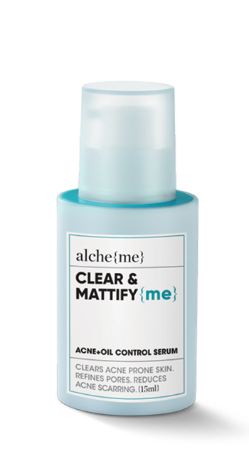 CLEAR & MATTIFY {me} (Acne+Oil Control Serum)